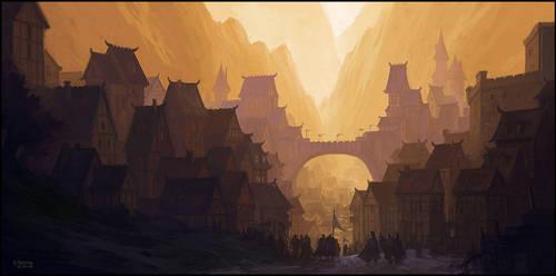 City Gates by andreasrocha