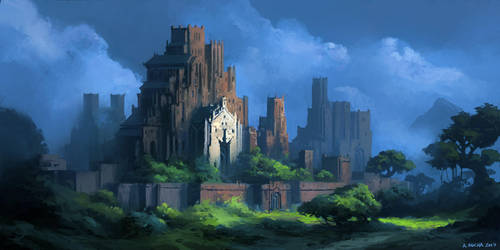 Jungle Fortress by andreasrocha