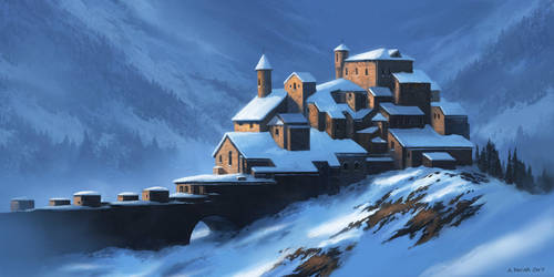Winter Chateau by andreasrocha