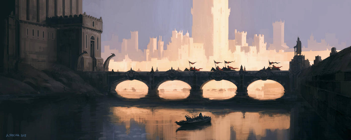 The King's Emissaries by andreasrocha