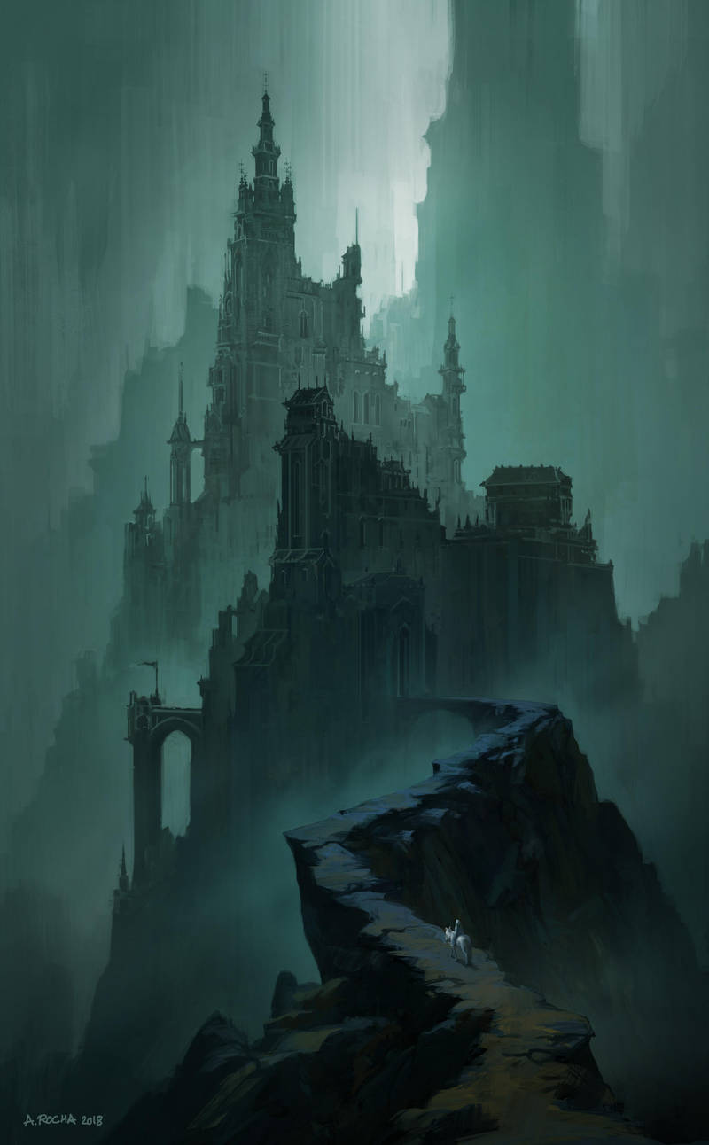 The Dark Citadel by andreasrocha