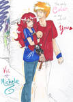 Color :Vic and Michele: by Serene-SimpliciT