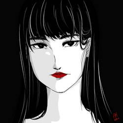 Kanojo wa by AKreiko