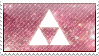 Pink Triforce Stamp by Judas-la-Carotte