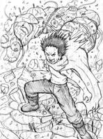 Tetsuo Shima from AKIRA by ViperXTR