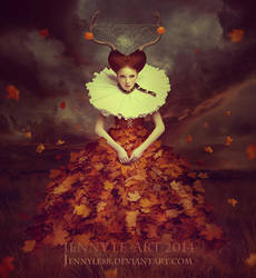 Queen of Autumn by JennyLe88