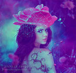 Rose Lady by JennyLe88