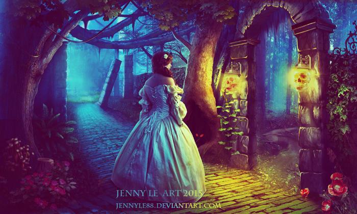 Secret Garden by JennyLe88
