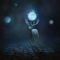 Deer of Moon 2 by JennyLe88