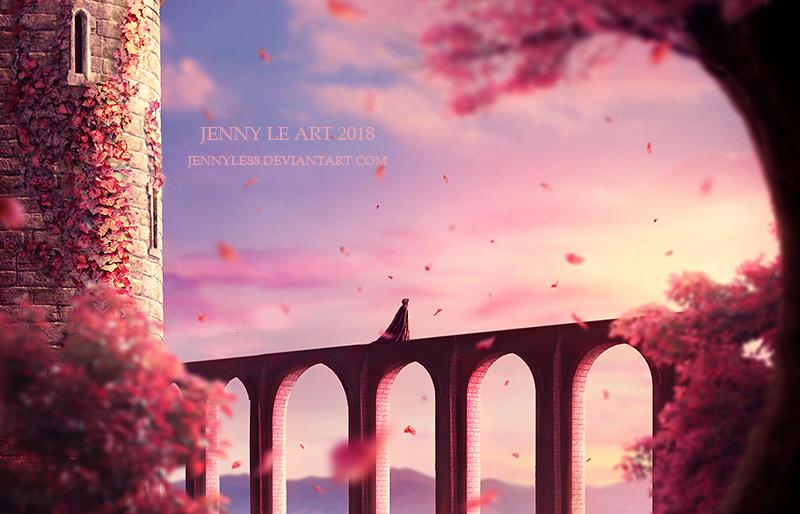 Pink Autumn by JennyLe88