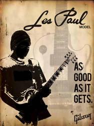 Gibson Les Paul Mock Ad by CARABAO