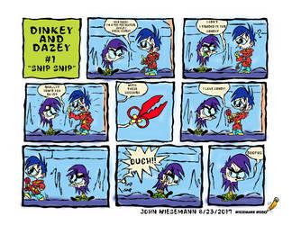 Dinkey and Dazey Comic #1 by wieseguy69