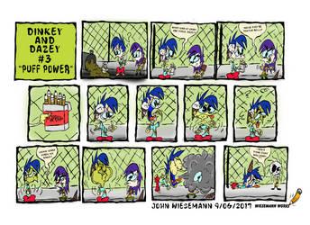 Dinkey and Dazey Comic #3: Puff Power by wieseguy69
