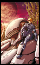 ARMARAUDERS: Issue #2 - Cover A by EnricoGalli