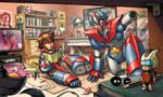 Robot by EnricoGalli