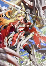 Sword Princess of Light by CrossAzoith