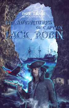 The Adventures Of Captain Jack Robin | Book Cover by gemiegem