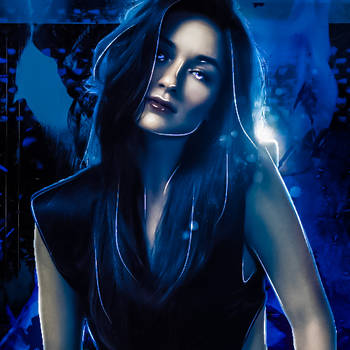 Crystal Reed   Icon by gemiegem