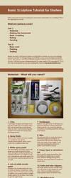 Sculpture tutorial for beginners   Sculpting by Feyrah