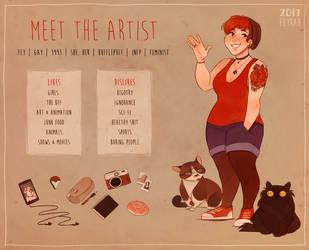 Meet The Artist - Fey by Feyrah