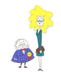 Mayor and Miss Patty by nerdsman567