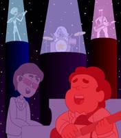 Steven and the Crystal Gems feat. Elton John by nerdsman567