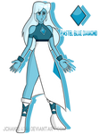 SU-OC-Pastel blue diamond (Custom) by Jchanel404