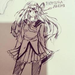 Homura Akemi by naori-boru
