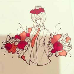 Flowers  by naori-boru