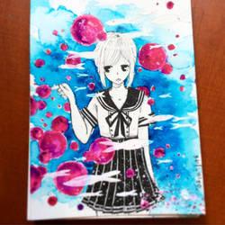 Underwater?  by naori-boru