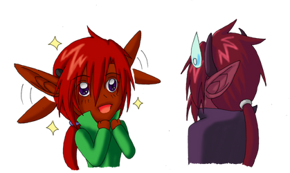 DaF - Ears-flapping by aki-lhant