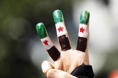 Free Syria by z-sawra