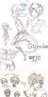 DAMMED Island sketches by PoiChan