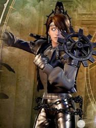 Aliza - Female Mechanic by DecadeSnake