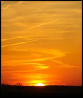 Golden Sunset by Roland3791