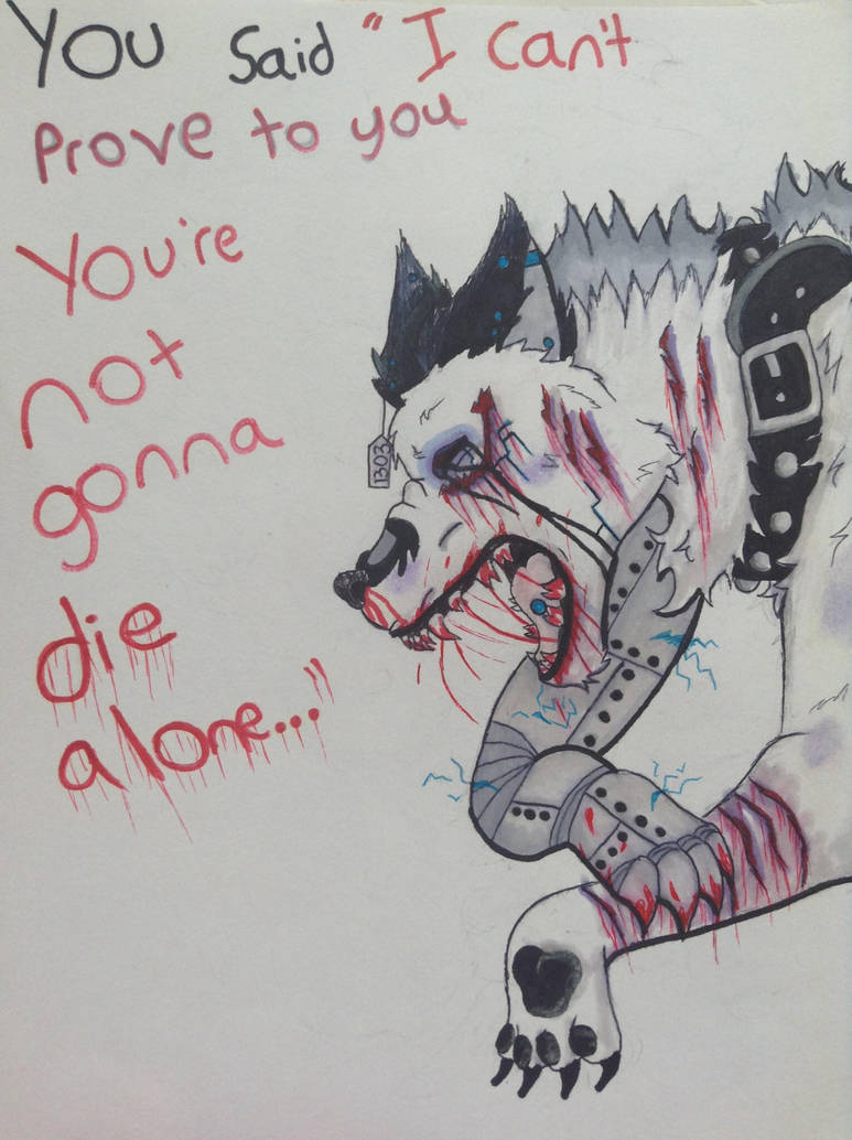 Yourre not going die