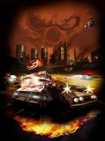 Twisted Metal Poster by MadJackalBHFR