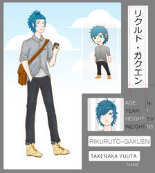 R-G: Takenaka Yuuta by FShounen