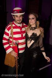 Steampunk Waldo and Mermaid by CaliNoir