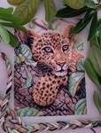 Leopard Cub Cross-stitch by jenninn