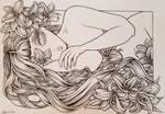 II - White [inks] by jenninn