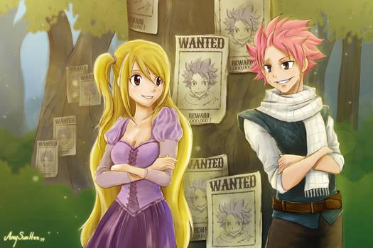 NaLu - Fairy Tail/Tangled by AmySunHee