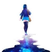 Walk among the stars by AmySunHee
