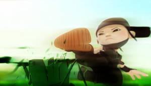 PSP Wallpaper Mini Ninjas 2 by SulphurFeast