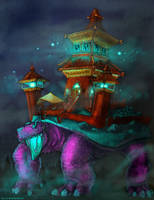 Temple and the Turtle by against-the-law