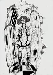 girl by silvacedro