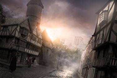 Tudor street by FantasyMaker