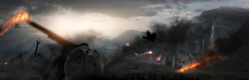 The siege by FantasyMaker