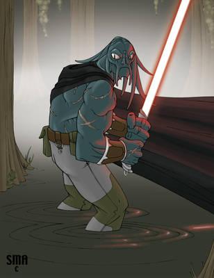 Tel'Va, Sith Hunter by MunkenDronkey
