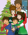 Merry Christmas - Family Pic - StubbornShipping by Kyt666